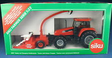 SIKU FARMER 3859 - CASE CS 150 Traktor + Champion Feldhäcksler - NEU in OVP 1:32