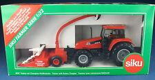 SIKU FARMER 3859 - CASE CS 150 Traktor + Champion Feldhäcksler - NEU in OVP 1:32