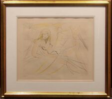 "Salvador Dali ""Cleopatra"" Hand Signed Original Intaglio Etching Make an Offer"