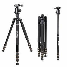 ZOMEI Professional Aluminium Stativ Einbeinstativ & Kugelkopf für Videokamera