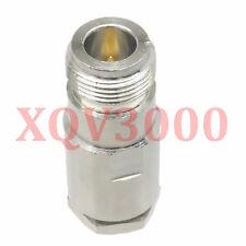 Connector RP*N female plug pin clamp for RG8 LMR400 RG213 RG165 RG393 RF COAXIAL