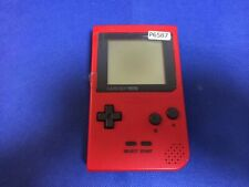 P6587 Nintendo Gameboy pocket console Red GBP Japan DHL
