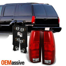 Fit 88-99 C/K Chevy GMC Suburban Tahoe Truck Tail Lights w/ Bulb Connector Plate