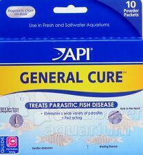 General Cure Powder FW & SW Aquarium Anti-Parasitic Fish Treatment API Powder