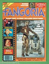 #LL. FANGORIA HORROR MOVIE  MAKEUP MAGAZINE #6, JUNE1980, STAR WARS