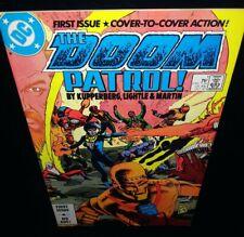 🔥Doom Patrol #1 🔅VOL. 2🔅VG/Fine (DC Comics 1987)🔑2nd new team apps w/story🔥
