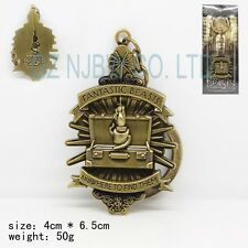 Fantastic Beasts and Where to Find Them Mark keychain Bronze kering Xmas gift