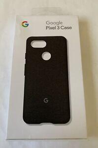 Google Pixel 3 Fabric Case (Black)