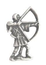 Nottinghamshire County Archer Pewter Pin Badge