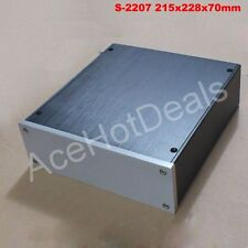 S2207 Full Aluminum Enclosure mini AMP case/power amplifier box chassis Free DHL