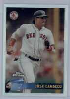 1996 Topps Chrome Jose Canseco #146 Refractor Boston Red Sox RARE