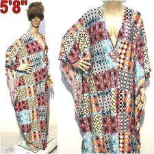 Polyester Summer/Beach Geometric Plus Size Dresses for Women