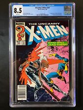 Uncanny X-Men #201 CGC 8.5 (1986) - RARE Newsstand - 1st Cable as baby Nathan