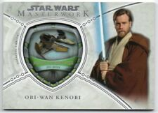 2018 Star Wars Masterwork Vehicle Patches Anakin's Fighter Obi-Wan Kenobi /175