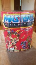 Vintage Master of the Universe Action figure Lot of 8 figures and MOTU case