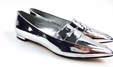 Vintage Nine West Shoes Silver High Style Exclusive Brand High Fashion Sz 7M