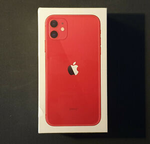 Apple iPhone 11 édition Product(RED), 128go, NEUF
