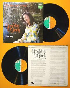 LP 33 Giri GERALDINE O'GRADY The Quiet Land Of Erin Folk Celtic Vinyl no cd mc