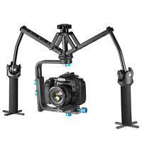 Neewer Portable Aluminum Alloy Handheld Mechanical Stabilizer f Canon Nikon Sony