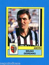 CALCIATORI PANINI 1988-89 Figurina-Sticker n. 11 - GIORDANO - ASCOLI -New