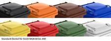 Couvercle couleur pour container SULO 240 L poubelle recyclage tri sélecti