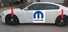 For Dodge Charger Chrysler 300 06-18 Set of 4 Chrome Hub Center Caps Mopar