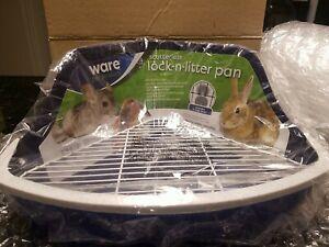 Ware Manufacturing Plastic Scatterless Lock-N-Litter Small Pet Pan (( Purple))