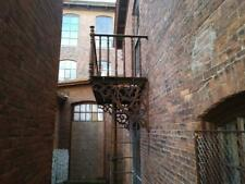 Antique Cast Iron Balcony Late 1800s Complete