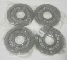 "4x New Classic Barbell Olympic Weight 2"" Standard Plate 10lbs Bar Bell Weights"