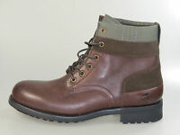 G-Star Schuhe Officer Plain Toe GS11825/04T Dark Brown Leather +NEU+ Größe 42-44