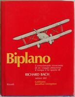 RICHARD BACH BIPLANO AERONAUTICA AEREI AVIAZIONE VIAGGI 1974