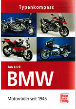 Book of Types BOOK BMW Motorcycles Since 1945 by Jan Leek Motor Book Publisher