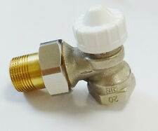 """Soupape thermostatique Robinet thermostathique DN 20 3/4 """" coin chauffage"""