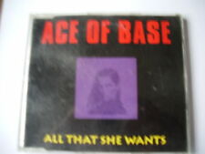 ACE of base-all that she wants (single CD)