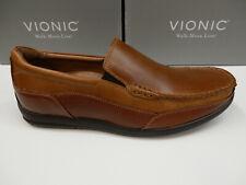 Vionic Mens Preston Slip On Loafer Tan 10.5