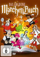 DVD Das Goldene Märchenbuch mit Pinocchio, Aschenputtel, Des Kaisers neu   4DVDs