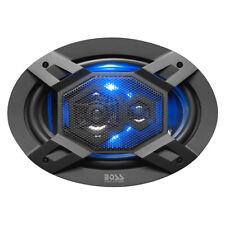 "BOSS Audio ""Elite"" Series Car Speakers, Model B69LED | 500 Watt 6"" x 9"" Full Ran"