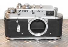 Vintage Zorki - 4K solo cuerpo de cámara telemétrica Entubado URSS en muy buen estado Repuestos Reparación