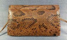 Vintage Genuine Snake Skin Shoulder Bag Made in Senegal West Africa