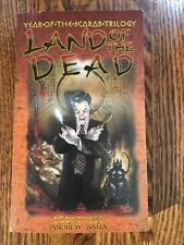 Land Of The Dead : Year Of The Scarab Trilogy #3 by Andrew Bates 2001 paperback