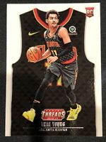 2018-19 Panini Threads Jersey Icon Rookie RC 143 Trae Young Atlanta Hawks MINT🍃