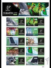 Sint-Maarten - Postfris/MNH - Sheet Heineken Regatta 2017 NEW!