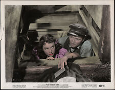 REAP THE WILD WIND original tinted lobby photo JOHN WAYNE/PAULETTE GODDARD