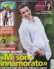 SORRISI 25 2007 Flavio Insinna America Ferrera Miguel Bosé Vasco Rossi Preziosi