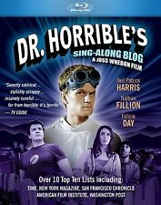 DR HORRIBLE'S SING-ALONG BLOG  -  Blu Ray - Sealed Region free