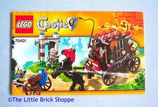 Lego Castle 70401 Gold Getaway - Instruction Book Only - No Lego bricks