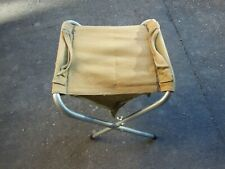 Vintage Collapsible Fishing Camping Hunting Outdoor Fold Up Stool Seat Chair
