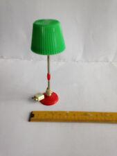 alte DDR Lampe f.Puppenstube,Stehlampe runder Sockel,Wohnzimmerlampe m.Stecker,