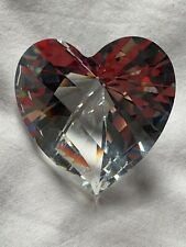 Swarovski 2015 Brilliant Large Heart Clear Crystal