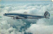 AIR FRANCE - LOCKHEED - SUPER CONSTELLATION  - VINTAGE POSTCARD VIEW